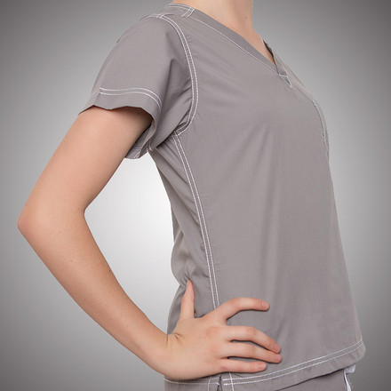 Urban Scrubs Grey Top