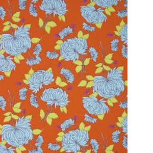 Maddox Floral blue sky scrubs Poppy Scrub Cap