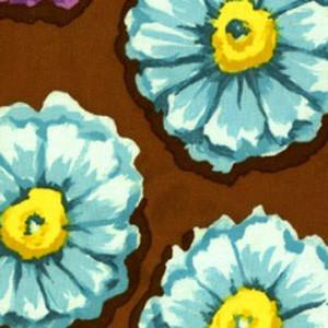 Clive Floral blue sky scrubs Poppy Scrub Cap