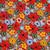 Amber Blooms Poppy Scrub Hat blue sky scrubs Image 1