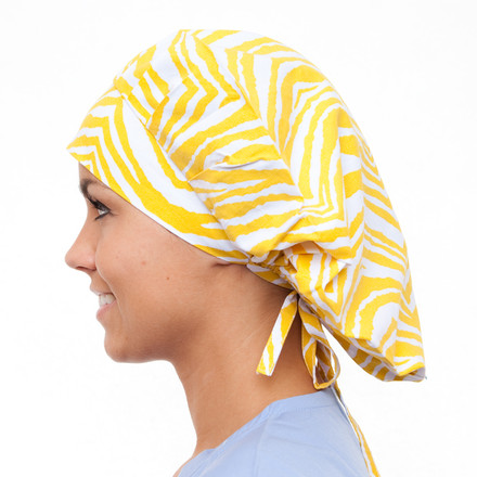 African Sun Poppy Scrub Hat