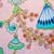 Napoli Poppy Scrub Hat blue sky scrubs Image 1