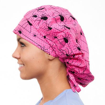 Arachnophobia Poppy Scrub Hat