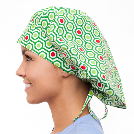 Alpine Poppy Scrub Hat