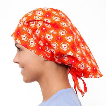 Acacia Poppy Scrub Hat