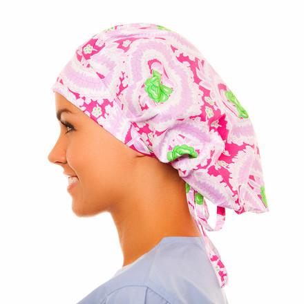 Gentilly Poppy Scrub Hat
