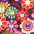 Bohemian Blooms Poppy Scrub Hat blue sky scrubs Image 1
