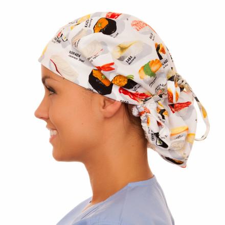 Nigiri Poppy Scrub Hat