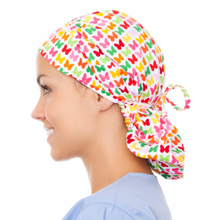 Arrabelle Poppy Scrub Hat
