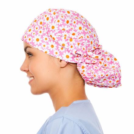 Charlotte Poppy Scrub Hat