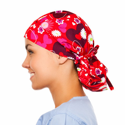 Allure Poppy Scrub Hat