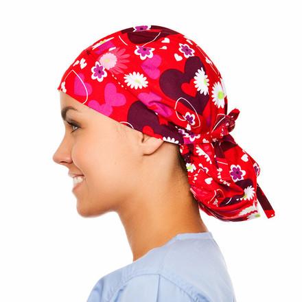 Allure Poppy Scrub Hat