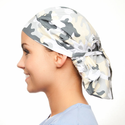 Sterling Camo Poppy Scrub Hat