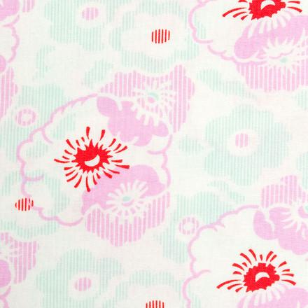 Brix Floral Poppy Scrub Hat