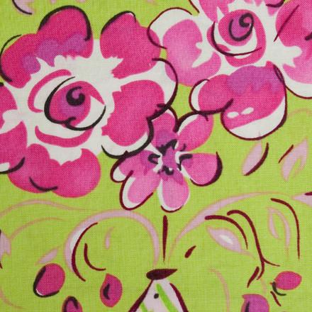 Greenway Floral Poppy Scrub Hat