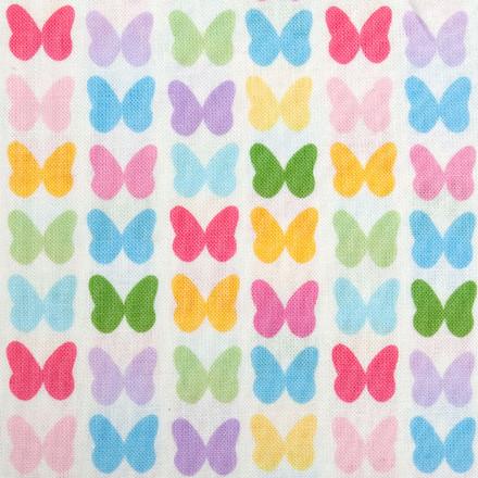 Butterfly Paradise Poppy Scrub Hat