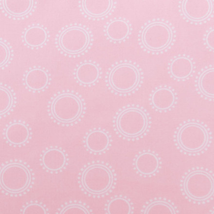 Pink Icing Poppy Scrub Hat