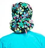 Florentine Poppy Scrub Hat