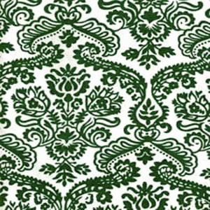 Emerald Damask Poppy Scrub Hat
