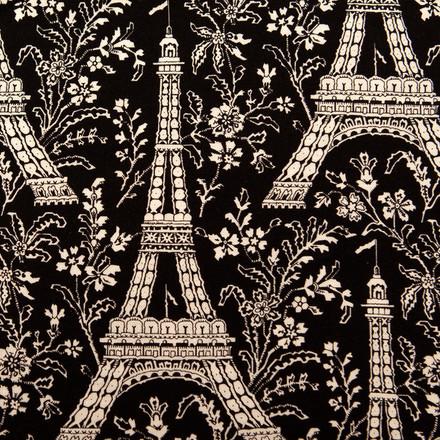 Night in Paris Poppy Scrub Hat