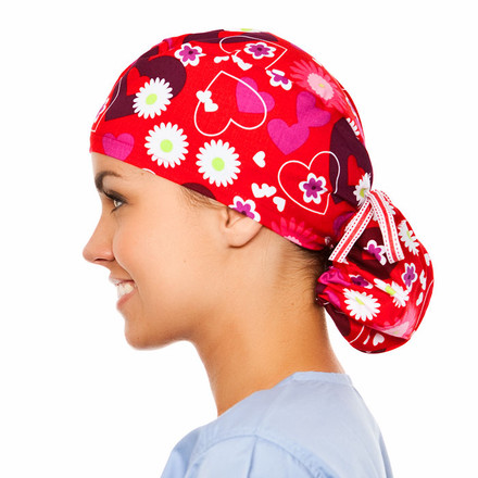 Allure Pony Scrub Hat