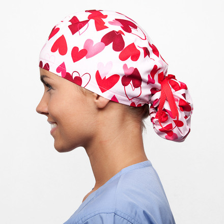 Crush Pony Scrub Hat