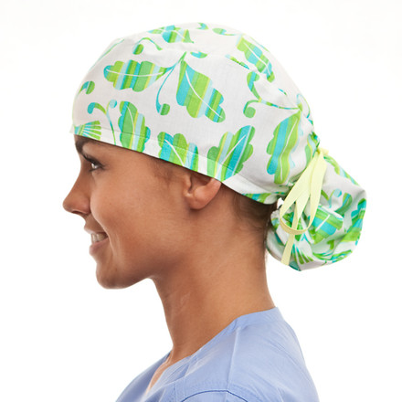 Palm Peninsula Pony Scrub Hat