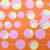 Tangy Tangerine Pony Scrub Hat blue sky scrubs Image 1