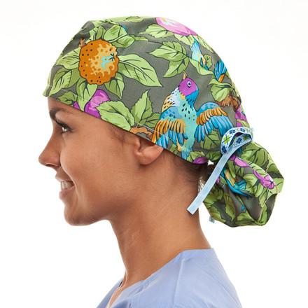 Glendale Garden Pony Scrub Hat