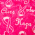 Breast Cancer Awareness Pony Scrub Hat blue sky scrubs Image 1
