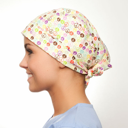 Peace of Mind Pixie Scrub Hat