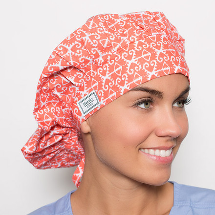 Rosario Poppy Scrub Hat