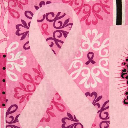 Pink Ribbon Pixie Scrub Hat