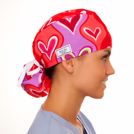 Fall in Love Pony Scrub Hat