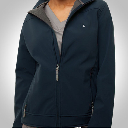 Navy Blue Haddington Soft Shell Jacket
