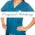 Teal Scrubs Top - M blue sky scrubs Image 1