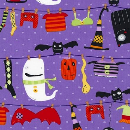 Spooky Clothesline Pixie Scrub Hat
