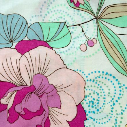 Botanical Gardens Poppy Scrub Hat