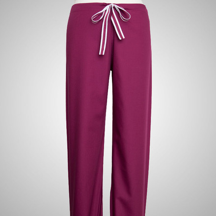 Wine Scrubs Pants