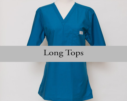 XS Womens Long Simple Tops