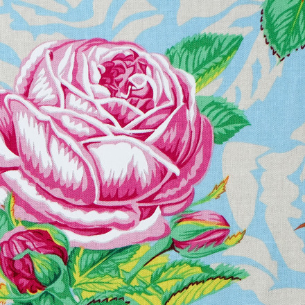 Romantic Rose Poppy Scrub Hat