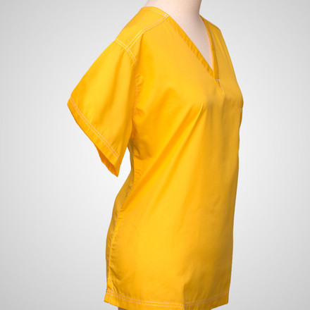 Marisol Gold Urban Scrub Top