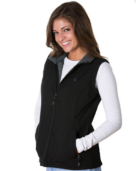 Black Kensington Soft Shell Vest