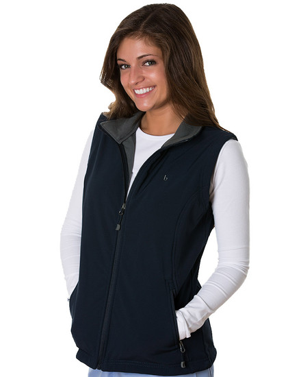 Navy Kensington Soft Shell Vest