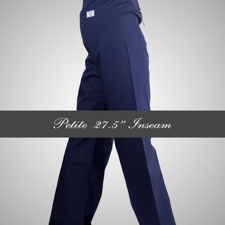 XXL Womens Petite Simple Scrub Pants