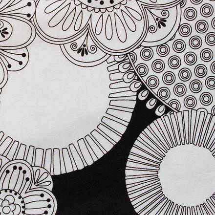 Mandala Sketch Poppy Scrub Hat