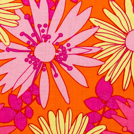 Scrubs Cap for Women Floral Embrace Poppy