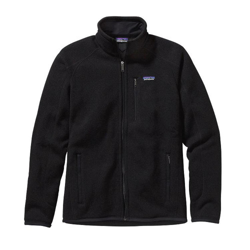 Patagonia Men's Better Sweater® Fleece Jacket in Black