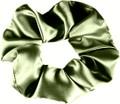 Love Thy HnS - Satin Curl Scrunchie (Soft Green)