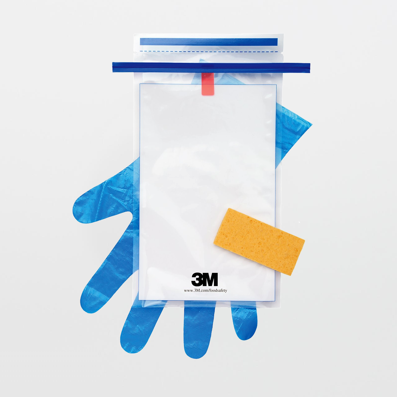 3m Hydrated Sponge With 10 Ml Letheen Broth And Gloves